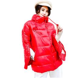 2019 più la tuta sportiva di hip hop di formato piumino verniciato donna parchi hip hop oversize cappotto donna harajuku tuta sportiva invernale giacca con cappuccio da donna plus size più la tuta sportiva di hip hop di formato economici
