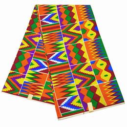 большое белое африканское кружево Скидка Африканские принты ткань 2019 высокое качество воска анкара Kente Fabric 6 ярдов африканский воск печати 6 ярдов для вечернего платья
