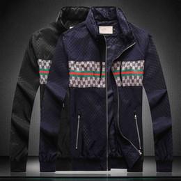 2019 coppie immagini invernali 2019ss Autunno Inverno nuovo design di lusso lunghe maniche medusa mens giacca a vento giacche Giacche Casual