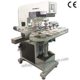 2019 máquinas plc tampo máquina de impressão (estilo inkcup, controle PLC, auto pad sistema limpo) máquinas plc barato