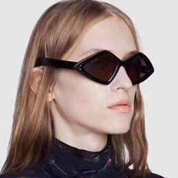 2019 корейские модные очки Brand Trendy 2019 New Rivet Design Rrregular Sunglasses Women Men Korean Fashion Small Frame Triangle Sun Glasses Ladies Shades дешево корейские модные очки
