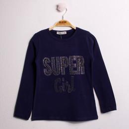 Toontoy Pedra Camiseta Navio bordados Super Girls da Turquia HB-004101508 de Fornecedores de colchas crianças