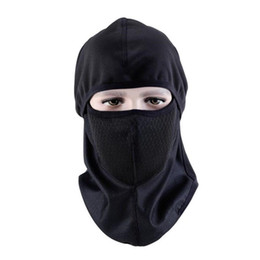 ride thermal masks Promo Codes - Mounchain Anti-smog Cycling Mask Head Cover Dust Wind Thermal Mask Riding Headgear 37*26cm free size