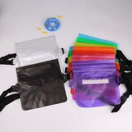 непромокаемые карманные сумки для плавания Скидка Новые Водонепроницаемая сумка для мобильного телефона. Плавательная сумка для хранения ПВХ.