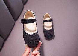 ausländische schuhe Rabatt Mädchen Lederschuhe 2019 neue Frühlingskinder weichen Boden flachen Mund einzelne Schuhe kleines Mädchen Prinzessin Schuhe ausländischen Frühling
