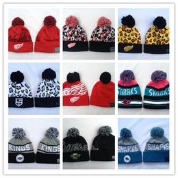 36a864e00 New Arrival winter Beanies Hats American Football 32 teams Beanies Hockey  baseball Sports caps Knitted Hats