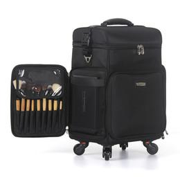 2020 carrinhos de maquiagem caixa de cosméticos Trolley, Oxford pano bagagem, Multi-função de maquiagem e maquiagem beleza, mala beleza de grande capacidade carrinhos de maquiagem barato