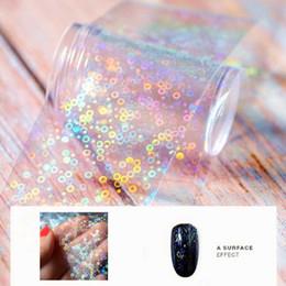 Круглые переводные картинки онлайн-100cm*4cm 3d Nail Stickers Decals Circle Transparent Transfer Foil For Nails Highlight Sliders For Nails Manicure Design