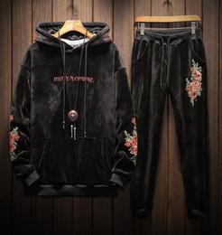2019 outono usa Mens Designer de Fatos de Treino Sportswear Man's Jogging Ternos Camisolas Hoodies Primavera Outono Casual Sportswear Define Vestuário Ao Ar Livre outono usa barato