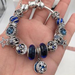 pulseiras crianças Desconto Moda Charm Bracelet Mulheres Requintado Esmalte Contas Coloridas Frisado Pulseira para Pandora Jóias Meninas Presente Das Crianças