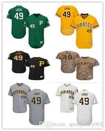 d352bcc4e51 Pittsburgh 2019 Men's Women's Youth Pirates 49 Jeff Locke Majestic Black  Alternate Authentic Flex Base Custom Baseball Jerseys