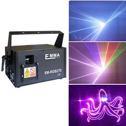 2019 eventos profissionais Profissional 5000 mW redgreenblue rgb cores cheias Moving-Head dmx ilda Animação de laser para a festa / DJ / clube / eventos eventos profissionais barato