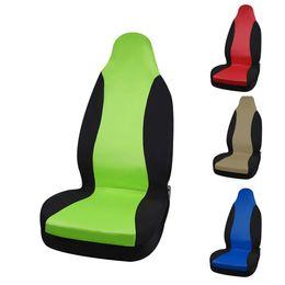 Rote farbe zubehör online-Classic Style High Back Bucket Autositzbezug Universal Fit Die meisten Autositzzubehör Sitzbezüge 5 Farbe Car Styling