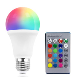 Светодиодная лампа RGB Smart, Многоцветная домашняя лампа KLEAR E27, с возможностью затемнения от