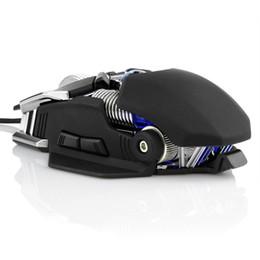 Cf luz online-Ratón USB para juegos con cable, DPI ajustable ergonómico RGB Luz 1.5M Cable Juego Ratones para CF / PUBG