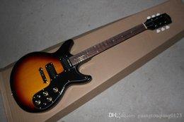2019 fare chitarre nuova chitarra Factory in mogano GB Melody Maker prodotta negli Stati Uniti, chitarra elettrica Sunburst fare chitarre economici