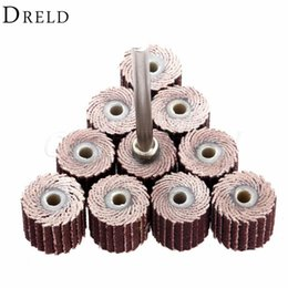 dremel tool accessories Coupons - tool dial DRELD 10Pcs Dremel Accessories 240-Grit Sanding Flap Disc Grinding Sanding Flap Wheels Brush Sand Rotary Tool 10 x 10x 3mm