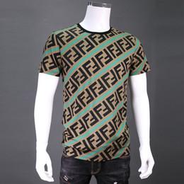 Marques de t-shirt de qualité en Ligne-19SS Roma Italie marque F logo t shirt de bonne qualité mens t shirt marque de luxe designer tee tops 8125