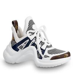 Cunei di scarpe da corsa online-1A589P Sneaker Women Running Ballerina Flats SNEAKERS Scarpe Mocassini Espadrillas Zeppe Scarpe eleganti Stivali