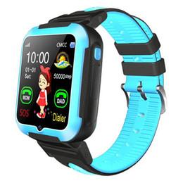 E7 + çocuk akıllı telefon izle derinlik su geçirmez gerçek zamanlı parça fotoğraf takip GPS konumlandırma izle uzun bekleme nereden