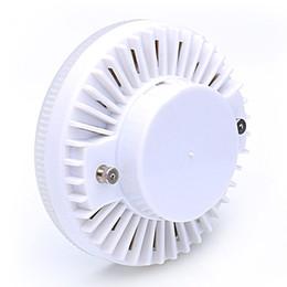 Lampara gx53 online-alta calidad GX53 LED LAMP 12W Downlights GX53 Luz del gabinete bombilla led smd2835 gx 53 AC 220V 230V 240V blanco cálido punto blanco frío bombillas