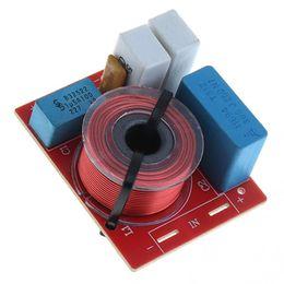 filtre de haut-parleur Promotion D222 60W Speaker 2 Way Audio Diviseur de fréquence Haut-parleur 2 Filtres de croisement pour les haut-parleurs de voiture