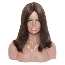 kosher wigs Coupons - Jewish Wigs Kosher European Hair Wig Natural Straight Bob Wig Short Human Hair Wigs For Women Virgin Hair Ever Beauty