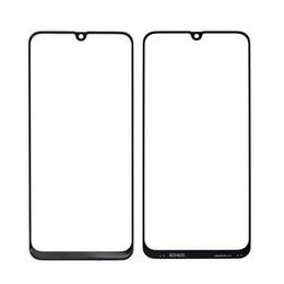 10pcs Lastest LCD frontal Outer Lens Para Samsung Galaxy A10 A20 A30 A40  A50 A90 Vidro Touch Screen substituição Repair