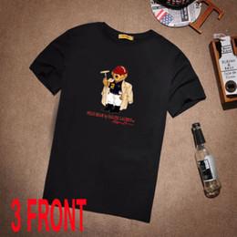 vintage t shirt hip hop Desconto Vintage dos anos 90 POLO Urso Arquivo Dick Tahsin Mens de Alta Qualidade T Shirt Tamanho de Algodão de Alta Qualidade Hip Hop Manga Curta