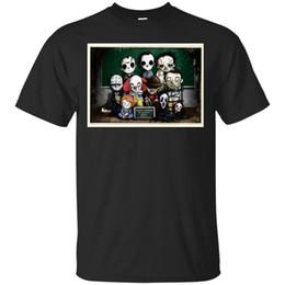 Canada Halloween T-shirt 4ème Grade Drôle Horreur Michael Myers Jason Voorhess IT Chucky Hommes Femmes Mode Unisexe T-shirt Livraison Gratuite supplier t shirts halloween men Offre