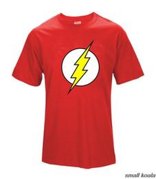 Canada Big Bang Theory T-shirt Le Flash Print Femmes Et Hommes T-shirts Vente Chaude Casual Tee Shirt S ~ xxl Coton Vêtements Dropship Q190514 supplier theory tee shirts Offre