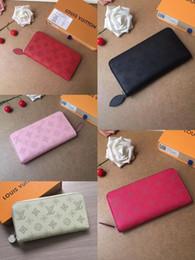 Damen-Designer-Markenname langen Reißverschluss Öffnen und Schließen Geldbörse Luxus weiblichen Designer Luxus Handtasche Geldbörse von Fabrikanten