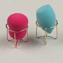 Esponja profesional online-NUEVO Pro maquillaje Puff Rack Esponja Holder Beauty Powder Puff Blender Rack de almacenamiento Esponja de secado Soporte Soporte