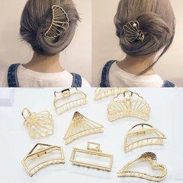 gancho para hairpin Desconto Moda Coração Forma Cabelo Womens Shower Titular Cabelo Caranguejo Jaw Braçadeira Jóias para As Mulheres Acessórios de Grampos de cabelo