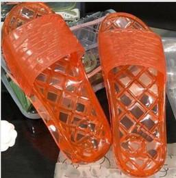 Argentina Llegan nuevos hombres calientes Diseño de mujer Diseño de diapositivas suaves 4 colores mujeres jalea zapatos zapatillas planas de diseñador con bolsa de polvo cheap hottest jelly bags Suministro