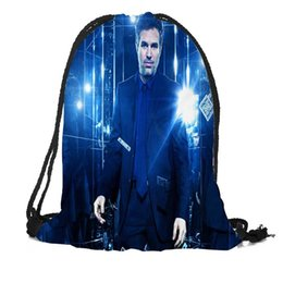 Рюкзак большой рюкзак онлайн-Custom Mark Ruffalo Drawstring Bag Silk Soft Bag Large Sapacity Custom Logo Printing Backpack More Size