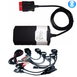 2019 vci tcs New vci with Bluetooth VD DS150E CDP 2015.R3 keygen TCS CDP PRO Plus for delphis cars trucks OBD2 diagnostic +8 pcs car cable дешево vci tcs