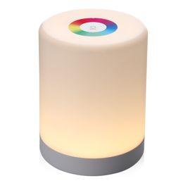 2019 bierflasche nacht lichter LED Touch Control Nachtlicht Induktions Dimmer Lampe Smart Nachttischlampe Dimmbar RGB Farbwechsel Wiederaufladbar Smart