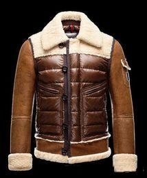 casacos de homens populares Desconto Venda quente homens anorak jaqueta de inverno uk popular Jaqueta de Inverno de Alta Qualidade Quente Plus Size Homem Para Baixo e jaqueta parka anorak