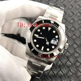 reloj súper buceo Rebajas Super Factory 904L Steel V9 Edition Reloj de lujo a prueba de agua 40mm Negro 116610 Cal.3135 Movimiento Automático Dive Glidelock Relojes para hombre