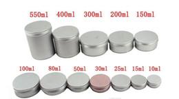 humidificador charutos Desconto 5 ml 10 ml 15 ml 20 ml 25 ml 30 ml 50 ml 60 ml 150 ml alumínio Gloss Recipiente creme cosmético frasco