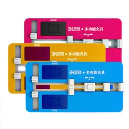 Super Qualidade JC Motherboard Dispositivo Elétrico Universal Lock PCB Titular Dispositivo Elétrico para Placa de Circuito de Telefone NAND PCIE Ferramenta De Solda de Fornecedores de prateleira para ferramentas de garagem