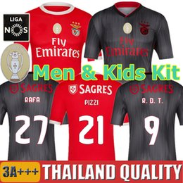 Kinder r online-19 20 SL Benfica Fußball Trikots PIZZI RAFA R. D. T. 2019 2020 GABRIEL TAARABT Fußball Trikot RÚBEN DIAS Männer Kinder Trikots Uniformen