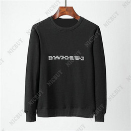 2019 большая дизайнерская одежда для мужчин Европа мода Хлопок дизайнер Бренд одежды мужчины большой буквы печати шею толстовки пуловеры джемперы с капюшоном толстовка дешево большая дизайнерская одежда для мужчин