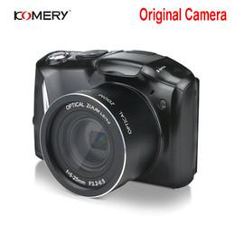 домашнее видео скрытая шпионская камера Скидка Komery оригинальный HD цифровой видео камеры 3,5-дюймовый IPS ЖК-2400вт пикселей 4X цифровой зум Камара fotografica професионал