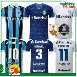 Melhores camisas on-line-2019 camisa Gremio Paulista de Futebol 19 20 Gilchmei Melhor Gremio Johnath MILLER LUAN Marlone Azevedo da Silva mulher Futebol