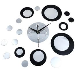 Stickers horloge murale miroir créatif bricolage décor à la maison ? partir de fabricateur