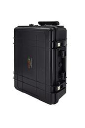 Cargando laptop dc online-Nueva energía, alimentación de computadora portátil, almacenamiento de batería Black Trolly con salida de CA DC, puede ser cargada por el Panel Solar, su capacidad es de 3000wh-6000wh