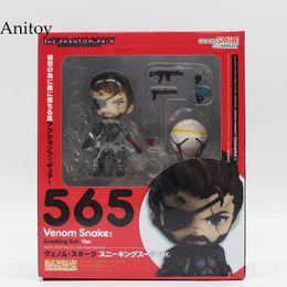 Metal Gear Solid V The Phantom Pain Snake 565 # Venom Snake Sneaking Suit Ver. Figura de acción de PVC modelo de juguete de colección 10cmKT3442 desde fabricantes