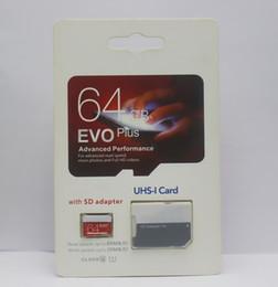 2019 Top vente 256 Go 128 Go 64 Go EVO PLUS carte mémoire mobile SD UHS-I Class10 ? partir de fabricateur
